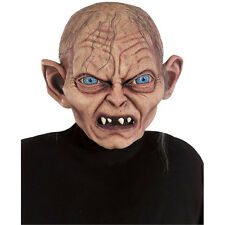 Lord Of The Rings Gollum Full Overhead Latex Adult Mask The Hobbit Rubies 50626