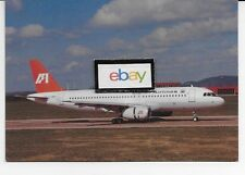 INDIAN AIRLINES AIRBUS A-320-231 #F-WWDY 1989 POSTCARD