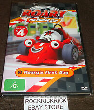 ROARY THE RACING CAR - ROARY'S FIRST DAY (5 EPISODES) -BRAND NEW SEALED-