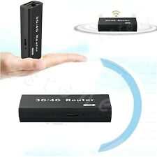 Mini Portable 150Mbps 3G/4G WiFi Wlan Hotspot AP Client RJ45 USB Wireless Router