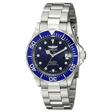 Invicta 17040 Gent's Blue Dial Steel Bracelet Automatic Watch