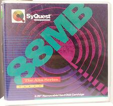 """Preformattata MAXELL 88 MB 5,25 """"Rimovibile HARD DISK CARTRIDGE-SYQUEST-NUOVO"""