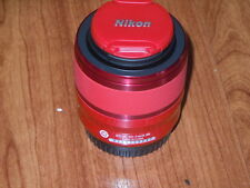 Genuine Nikon 1 NIKKOR VR 30-110mm f/3.8-5.6 Lens #3312 RED for One 1 J1 J2 J3