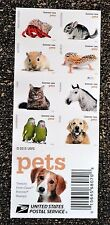 2016USA Forever - Pets - Booklet of 20    Mint