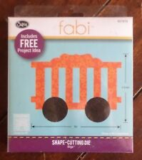 1 Brand New Sizzix Fabi Shape-Cutting Die - CIRCUS CAR #2 ~657879~