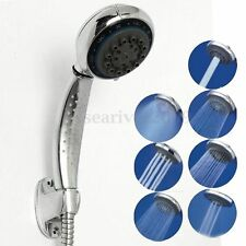 7 Mode Function Bathroom ABS Chrome Water Saving Pressure Hand Held Shower Head