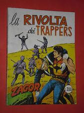 ZAGOR- NO ZENITH- N°81-originale DA LIRE 350 -1977 **NOME ROSSO-GALLIENO FERRI