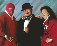 Pat Tanaka Signed Orient Express 8x10 Photo WWE w/ Kato Paul Diamond WWF Mr Fuji