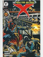 X #11 Dark Horse Comics The War for Arcadia      Excellent Condition
