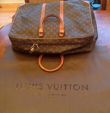Authentic LOUIS VUITTON Sirius 50 Monogram Suitcase Travel Business Bag