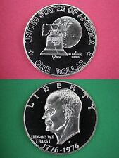 1976-S Type 1 Proof Eisenhower Deep Cameo Ike Flat Rate Shipping