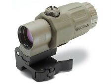 EOTech G33.STS 3x Magnifier with Switch to Side QD Mount TAN Rifle Scope Sight