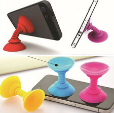 2 Pc New Sucker Stand For Mobile Phone iPhone iPod PSP Mini Plunger Holder NU IS