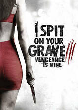 I Spit on Your Grave 3: Vengeance is Mine USED VERY GOOD DVD SARAH IS BACK