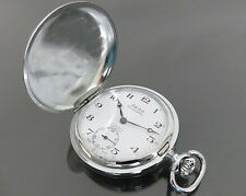 Authentic AERO NEUCHATEL Hand Winding Pocket Watch 17Jewels Swiss Made Vintage