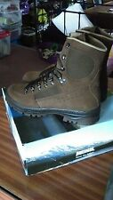 British Army Meindl High liability Combat suede brown boots UK 8M Cadet Hiking