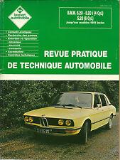 REVUE TECHNIQUE EXPERT AUTOMOBILE  - BMW 520 - 1988
