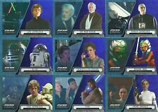 2016 Topps Star Wars Evolution Purple Foil Parallel Insert 52 Card Lot