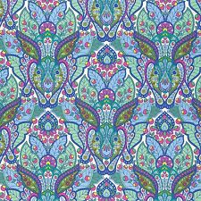 Slow & Steady Blue Hare rabbit by Tula Pink  By the yard fabric
