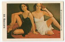 1970s Swedish Pop Star Card Spanish Yes Sir I Can Boogie Group Baccara #64