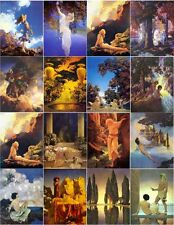 MAXFIELD PARRISH ART MAGNETS 16PK- ASSORTED-NICE**GREAT COLLECTIBLES!!**GIFTABLE