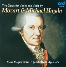 Mozart / Michael Haydn: The Duos for Violin & Viola, New Music