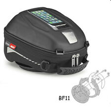 Givi ST602 Tanklock Tank Bag + Ducati Multistrada 1200 (10-15) Fitting Ring BF11