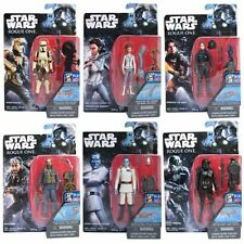 STAR WARS ROGUE ONE: WAVE 3, SET of 6 BODHI, THRAWN, SHORETROOPER, JEN, LEIA