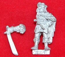 Warhammer Citadel - Empire Leopold's Leopard Company Officer - Metal A36