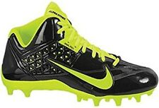 NEW Nike YOUTH SPEEDLAX 4 sz 6Y SLATE GRAY VOLT Lacrosse Football Shoes Cleats