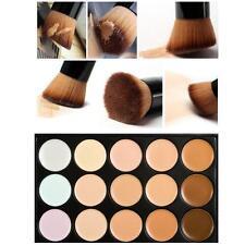 Professional Beauty 15 Colors Makeup Concealer Contour Palette + Makeup Brush A6