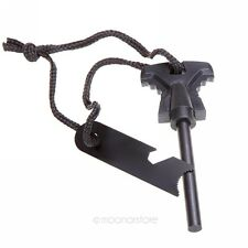 Ferrocerium Flint Stone Rod Fire Starter Lighter Magnesium Survival Tool
