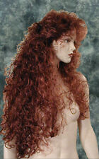 XXL IRISH RED~Sexy~Sultry Vixen WIG~Wigs~Long~NEW