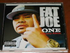 FAT JOE W/ AKON - One - 4 Track DJ PROMO CD RARE! w/ Radio Acappella version rap