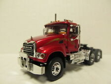 1ST GEAR 1/64 SCALE MACK GRANITE  DAY CAB  METALLIC RED  (SAME SCALE AS DCP)