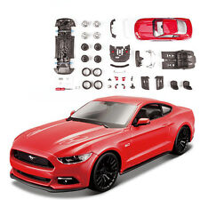 Maisto 1:24 Ford Mustang GT Diecast Assembly Line Diecast KIT Model Car New