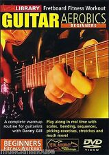 LICK LIBRARY GUITAR AEROBICS for BEGINNERS Learn to Play Bending Easy GUITAR DVD