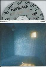 POWERPLAY - Anytime CD SINGLE 2TR CARDSLEEVE 1994 HOLLAND RARE!!