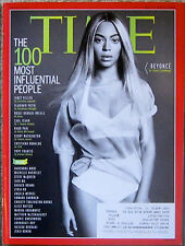 Time magazine • BEYONCE • 100 Most Influential People • May 5/ May 12, 2014 •