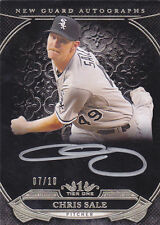 Chris Sale 2015 Topps Tier One ON CARD Auto #7/10 White Sox FREE SHIP