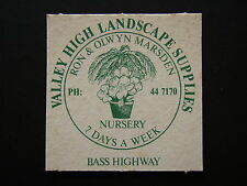 VALLEY HIGH LANDSCAPE SUPPLIES BASS HWY 447170 COASTER