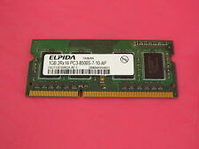 43R1989 IBM Corporation 1GB PC3-8500 1066 DDR3 SODIMM
