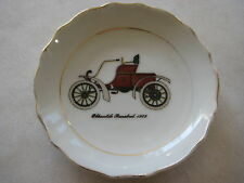 "VINTAGE OLDSMOBILE RUNABOUT 1903 CAR JAPAN SMALL DISH, 3 5/8"" DIA X 1/2"" HIGH"