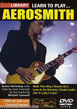 Lick Library Learn To Play Aerosmith Rock Siganme tutor lección Guitarra Dvd