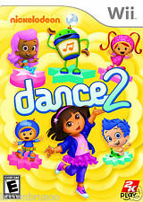 Nickelodeon Dance 2 Nintendo Wii NTSC Version NEW