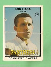 #D126. 1968 SERIES 2 RUGBY LEAGUE CARD #13  BOB MARA, PENRITH PANTHERS