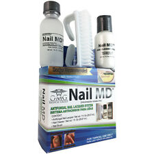 OMG Nail MD Antifungal Nail Lacquer 3 Piece System New in Box NIB