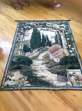 tuscan view tapestry wall hanging size 54 x 77 without rod