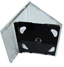 1 DOPPIO CD JEWEL CASE 10.4 mm standard per 2 CD CON NERO fold-out VASSOIO HQ AAA