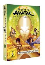 AVATAR Buch 2: Erde Volume 1+2+3+4 [DVD] NEU DEUTSCH Der Herr der Elemente